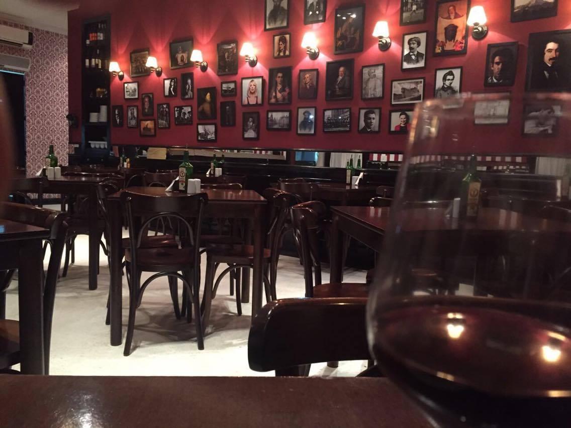 Vinho e comida boa na medida certa