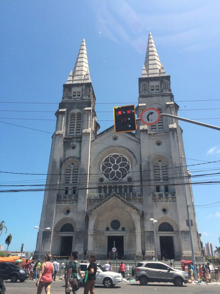 Catedral Metropolitana de Fortaleza. Acervo Pessoal.