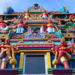 seychelles, templo hindu