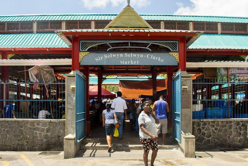 mercado de mahé, seychelles