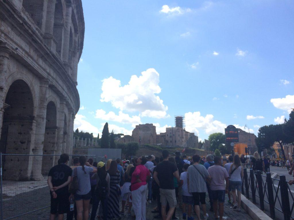 Visita ao Coliseu