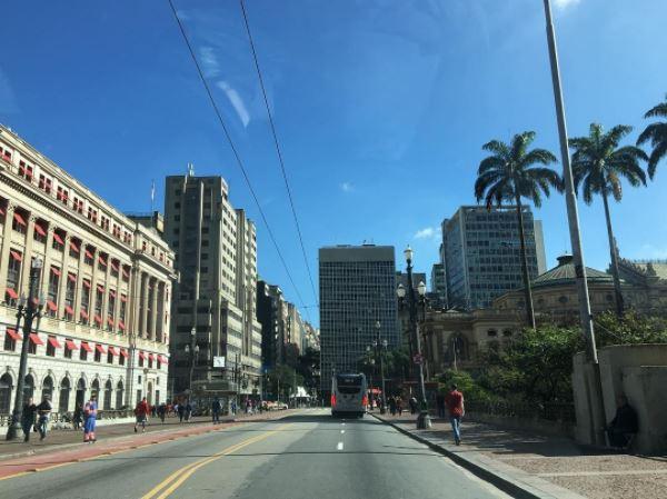 Explorando o centro de São Paulo